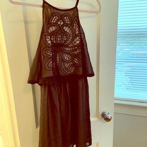 Altar'd State Tiered Halter Dress Anthropologie
